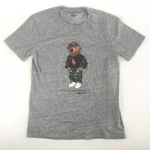 Polo Ralph Lauren Pink Pony Bear Breast Cancer Tee